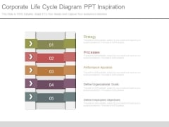 Corporate Life Cycle Diagram Ppt Inspiration