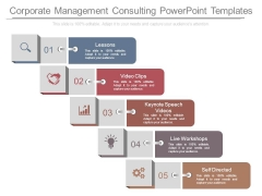 Corporate Management Consulting Powerpoint Templates