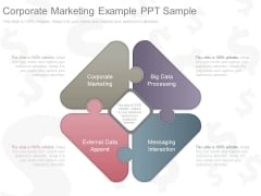 Corporate Marketing Example Ppt Sample