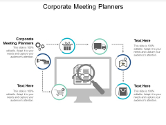 Corporate Meeting Planners Ppt Powerpoint Presentation Pictures Show Cpb