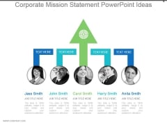 Corporate Mission Statement Powerpoint Ideas