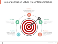 Corporate Mission Values Presentation Graphics