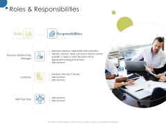 Corporate Networking Relationship Management Roles And Responsibilities Ppt Outline Icon PDF
