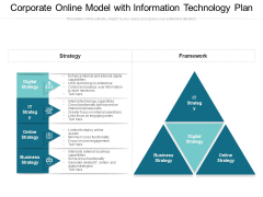 Corporate Online Model With Information Technology Plan Ppt PowerPoint Presentation File Aids PDF