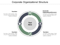 Corporate Organizational Structure Ppt PowerPoint Presentation Infographic Template Portfolio Cpb