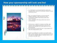 Corporate Partnership How Your Sponsorship Will Look And Feel Ppt Inspiration Graphic Images PDF