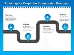 Corporate Partnership Roadmap For Corporate Sponsorship Proposal Topics PDF