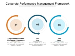 Corporate Performance Management Framework Ppt PowerPoint Presentation Gallery Outfit Cpb