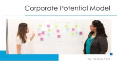 Corporate Potential Model Architecture Governance Ppt PowerPoint Presentation Complete Deck With Slides