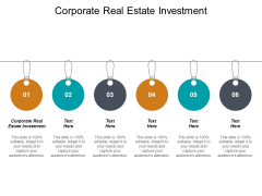 Corporate Real Estate Investment Ppt PowerPoint Presentation Icon Gallery