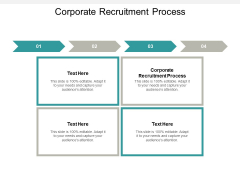 Corporate Recruitment Process Ppt PowerPoint Presentation Slides Example Topics Cpb