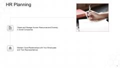 Corporate Regulation HR Planning Ppt Ideas PDF