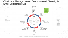Corporate Regulation Obtain And Manage Human Resources And Diversity In Small Companies Ethnicity Ppt Visual Aids Model PDF