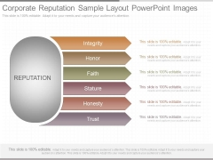 Corporate Reputation Sample Layout Powerpoint Images