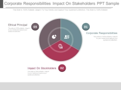 Corporate Responsibilities Impact On Stakeholders Ppt Sample