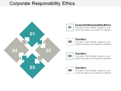 Corporate Responsibility Ethics Ppt PowerPoint Presentation Outline Master Slide Cpb