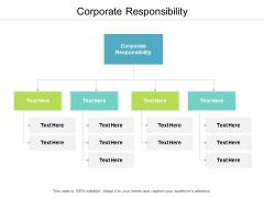 Corporate Responsibility Ppt PowerPoint Presentation Inspiration Skills Cpb