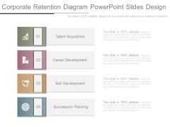 Corporate Retention Diagram Powerpoint Slides Design