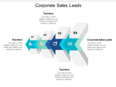 Corporate Sales Leads Ppt PowerPoint Presentation File Information Cpb
