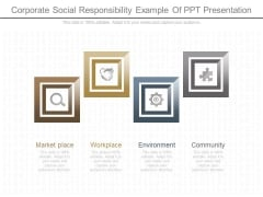Corporate Social Responsibility Example Of Ppt Presentation