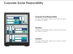 Corporate Social Responsibility Ppt PowerPoint Presentation Portfolio Design Inspiration Cpb