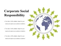 Corporate Social Responsibility Ppt PowerPoint Presentation Portfolio Grid