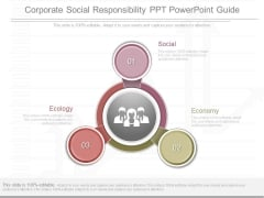 Corporate Social Responsibility Ppt Powerpoint Guide