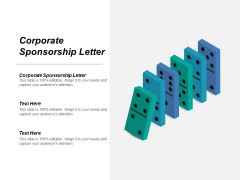 Corporate Sponsorship Letter Ppt PowerPoint Presentation Inspiration Information Cpb