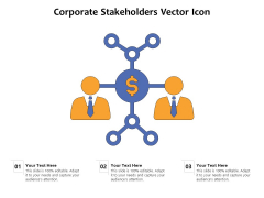 Corporate Stakeholders Vector Icon Ppt PowerPoint Presentation File Visuals PDF