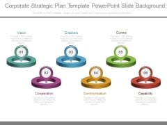 Corporate Strategic Plan Template Powerpoint Slide Background