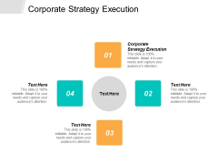 Corporate Strategy Execution Ppt PowerPoint Presentation Icon Good Cpb