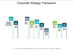 Corporate Strategy Framework Ppt Powerpoint Presentation Professional Designs Download Cpb
