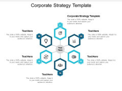 Corporate Strategy Template Ppt PowerPoint Presentation Design Templates Cpb