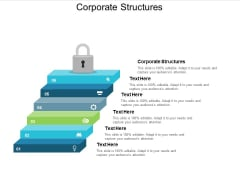 Corporate Structures Ppt PowerPoint Presentation Slides Vector Cpb