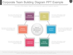 Corporate Team Building Diagram Ppt Example