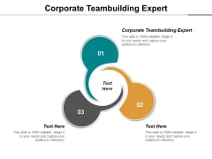 Corporate Teambuilding Expert Ppt PowerPoint Presentation Model Good