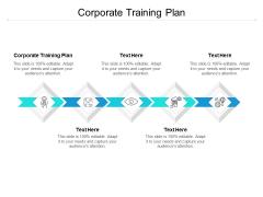 Corporate Training Plan Ppt PowerPoint Presentation Ideas Slide Portrait Cpb