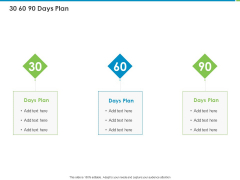 Corporate Turnaround Strategies 30 60 90 Days Plan Ppt File Background PDF