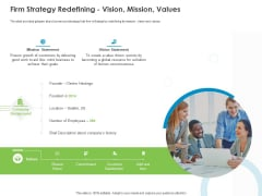 Corporate Turnaround Strategies Firm Strategy Redefining Vision Mission Values Download PDF