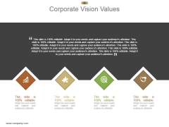 Corporate Vision Values Powerpoint Slide Background Image