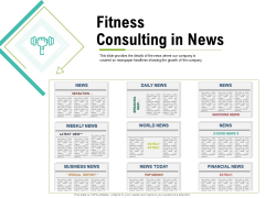 Corporate Wellness Consultant Fitness Consulting In News Ideas PDF