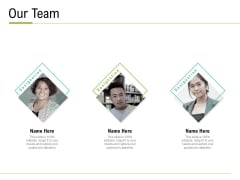 Corporate Wellness Consultant Our Team Mockup PDF