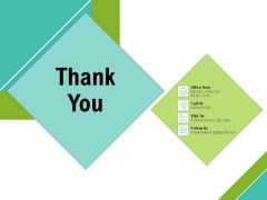 Corporate Wellness Consultant Thank You Structure PDF