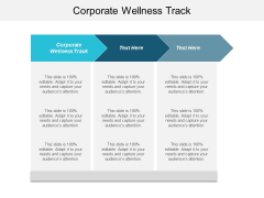 Corporate Wellness Track Ppt PowerPoint Presentation Inspiration Influencers