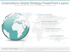 Corporations Global Strategy Powerpoint Layout
