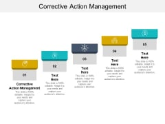 Corrective Action Management Ppt PowerPoint Presentation Summary Graphics Pictures Cpb Pdf