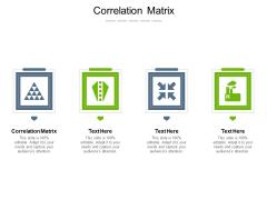 Correlation Matrix Ppt PowerPoint Presentation Icon Brochure Cpb Pdf