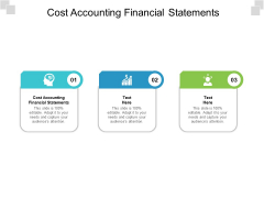 Cost Accounting Financial Statements Ppt PowerPoint Presentation Pictures Slide Cpb Pdf