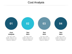 Cost Analysis Ppt PowerPoint Presentation Infographic Template Infographics Cpb