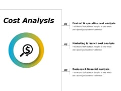 Cost Analysis Ppt PowerPoint Presentation Inspiration Aids